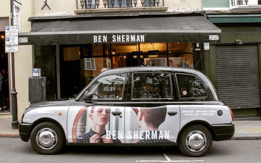 Ben Sherman history