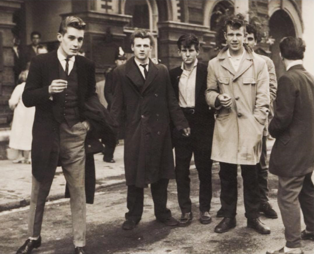 Fashion in the 50s boys 1950s Teenager