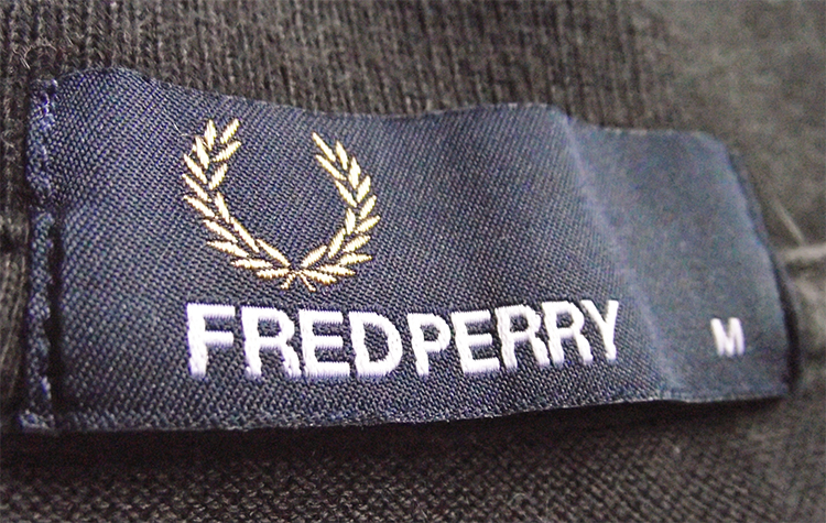 ярлык fred perry