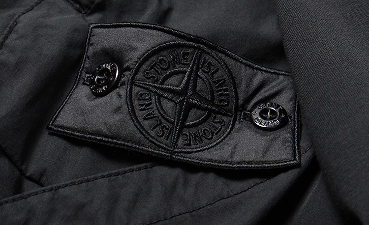 patch stone island black