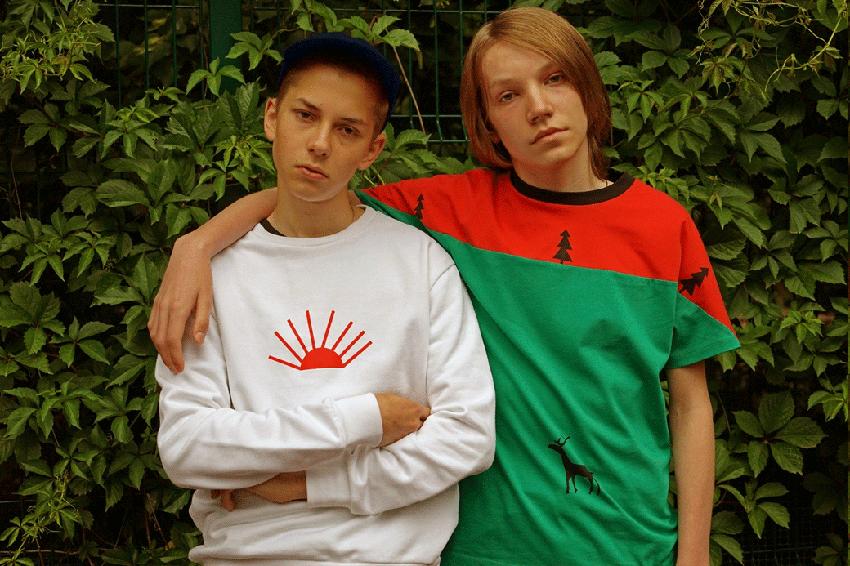 Молодая молодежная марка Гоши Рубчинского