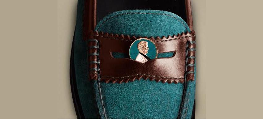 пенни на обувь