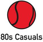 80s casual logo