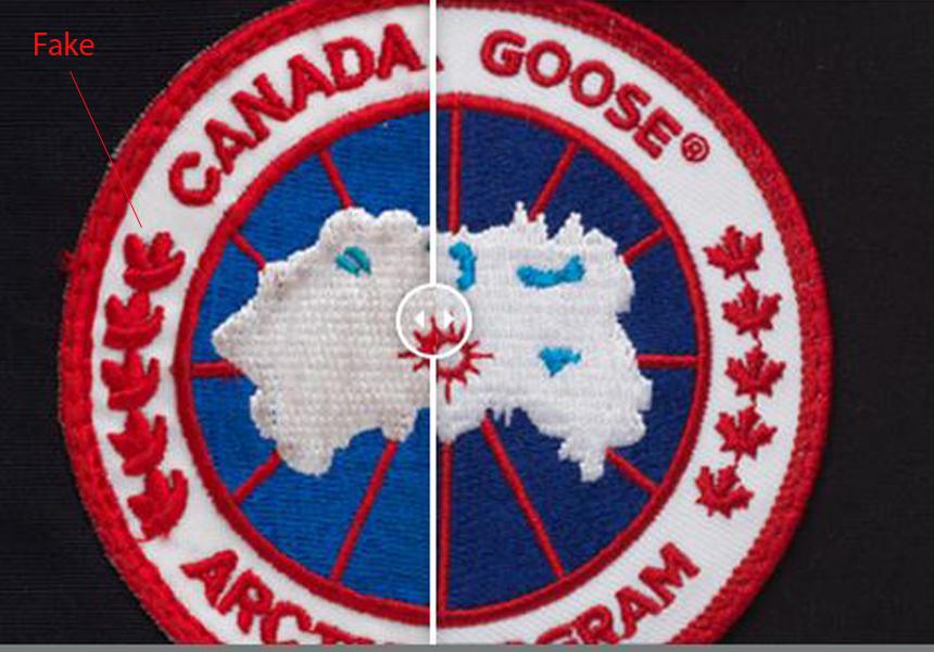 Canada Goose оригинал vs подделка