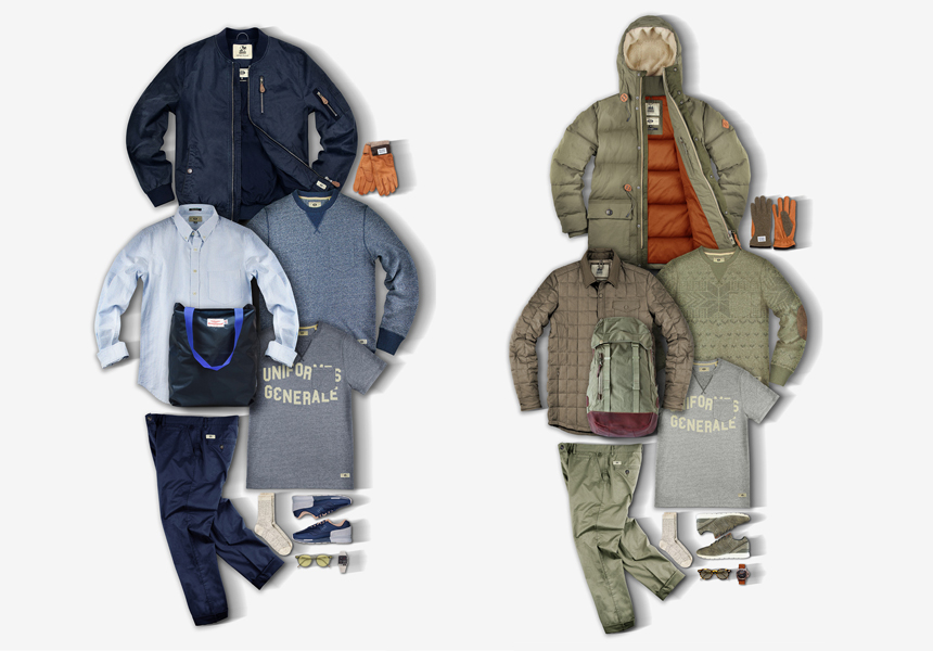 Доступная премиум одежда от английской марки «Uniformes Generale»