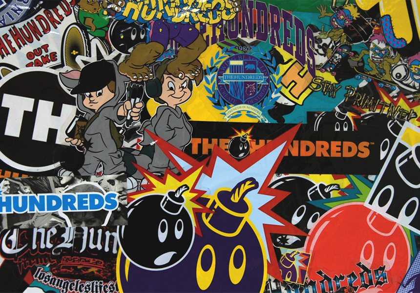«The Hundreds» коллаборации