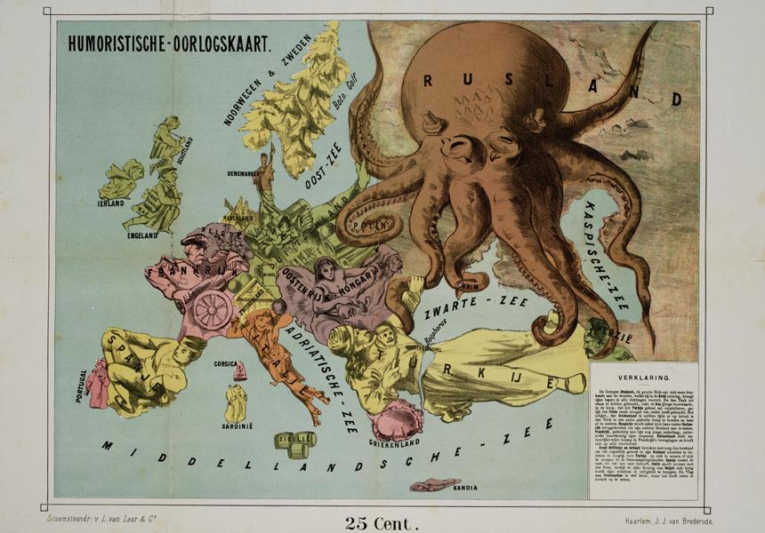 Сатирическая карта мира