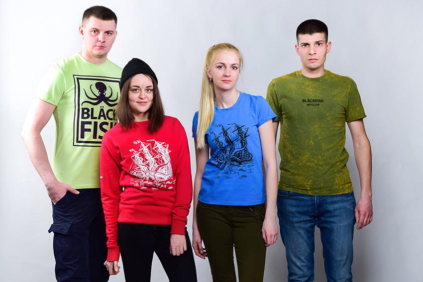 Крупная рыба на просторах российской индустрии моды - новый бренд «Blackfisk»