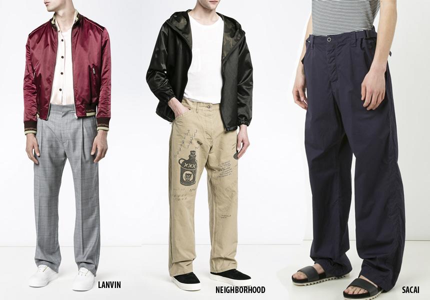 Модные мужские брюки 2017