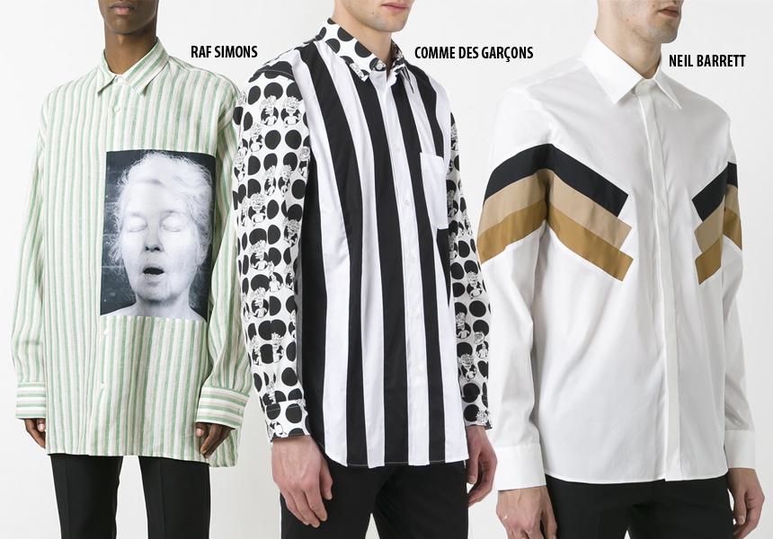 Модные мужские рубашки 2017
