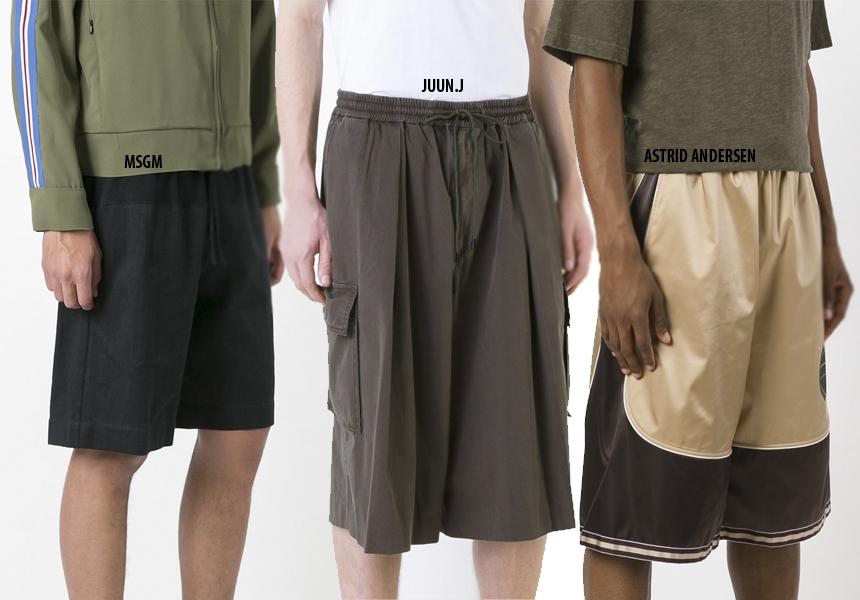 Модные мужские шорты 2017