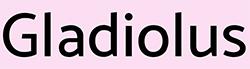 Гладиолус лого