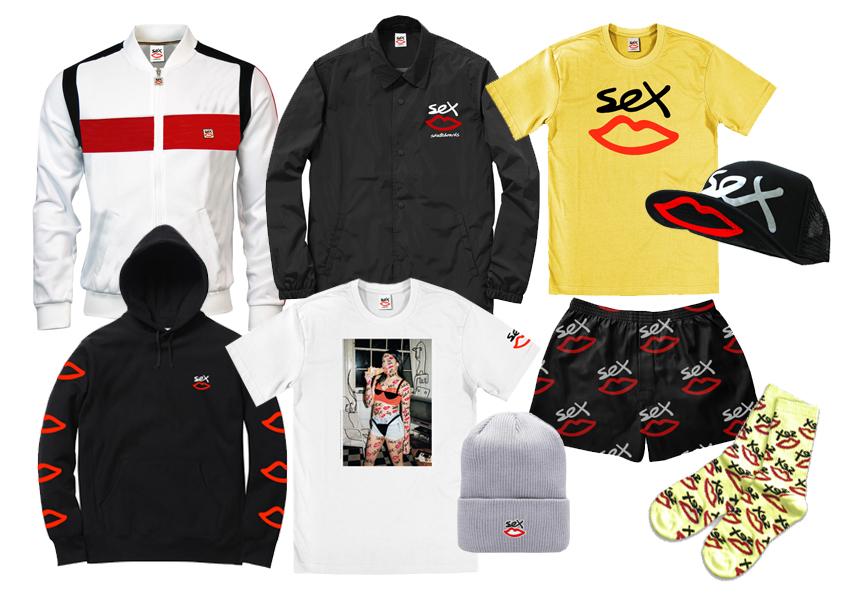 Английский бренд «Sex Skateboards»