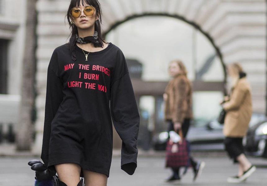 Тренд сезона весна 2017 - «говорящие» футболки.