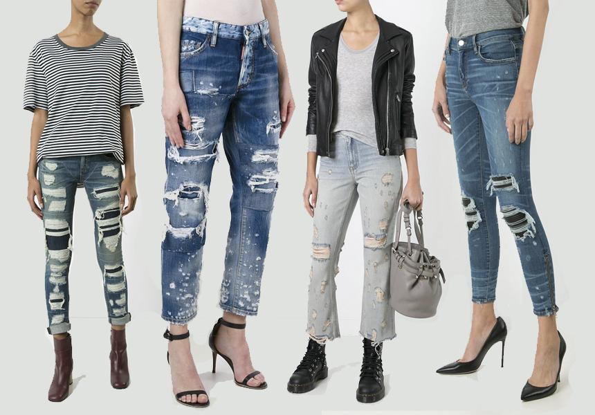 Новости из мира денима - тренды весна-лето 2017 для джинсов