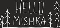 logo hello mishka