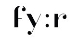 Логотип «fy:r»