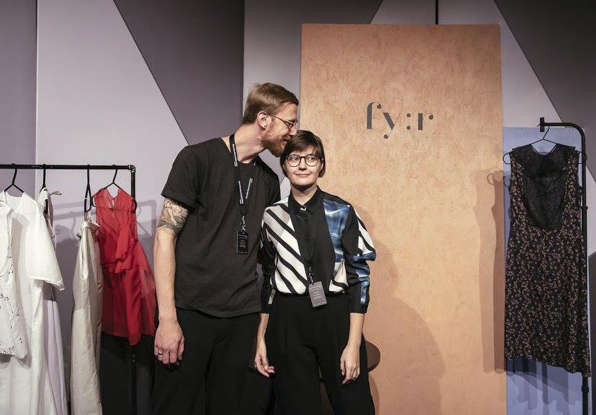 Основатели бренда «fy:r» - Светлана Сальникова и Алексеем Кухта
