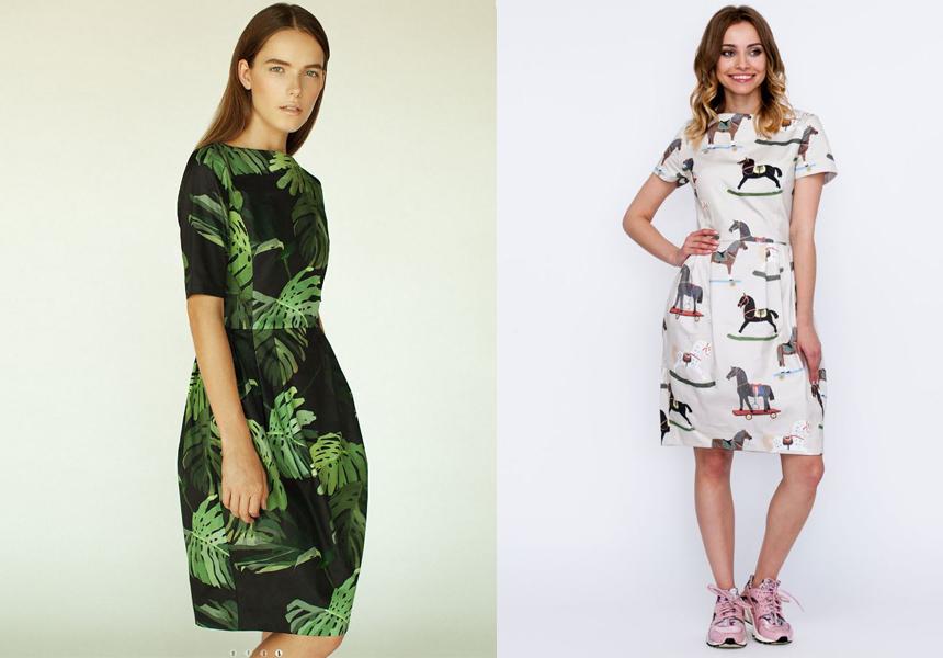 Российская марка  «Карина Кино»  - одежда как живописные полотна