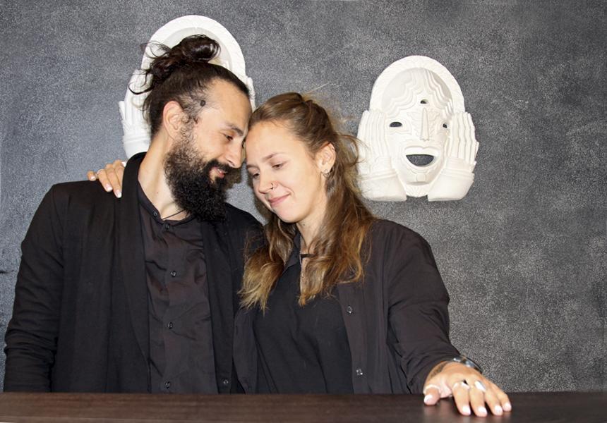 Основатели бренда «Durpee» - Наташа Орлова и Алексей Поливанов.
