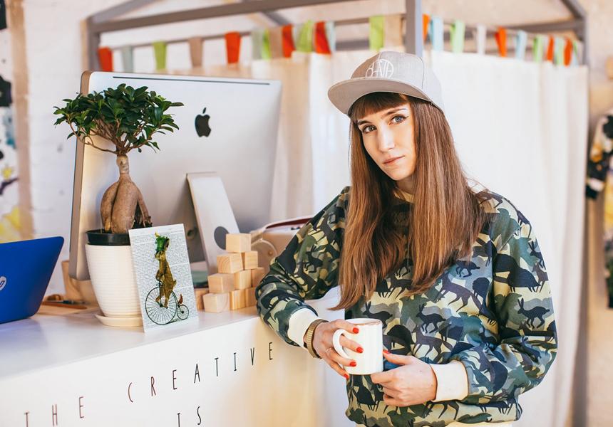 Основательница бренда Карина Кино - Карина Рыбушкина