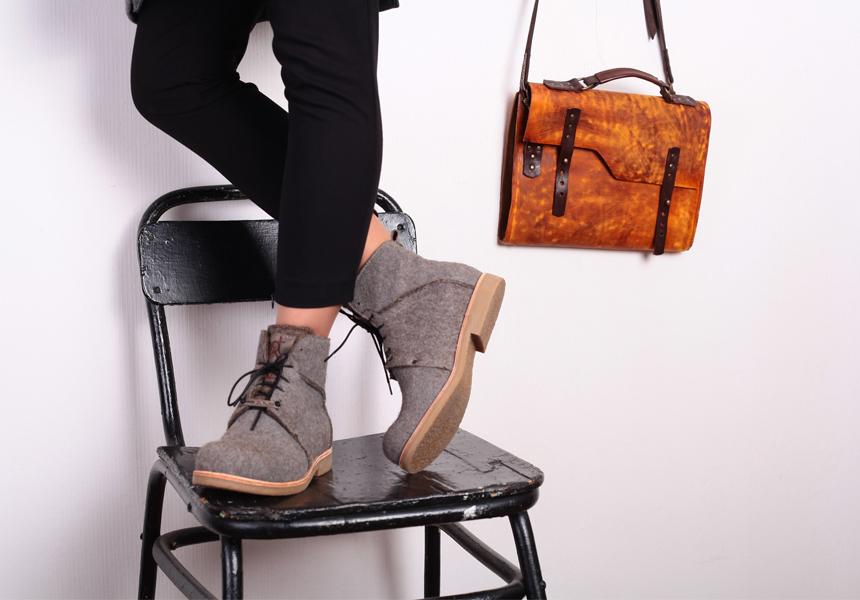 Обувь ручной работы от российской марки «Notmysize»