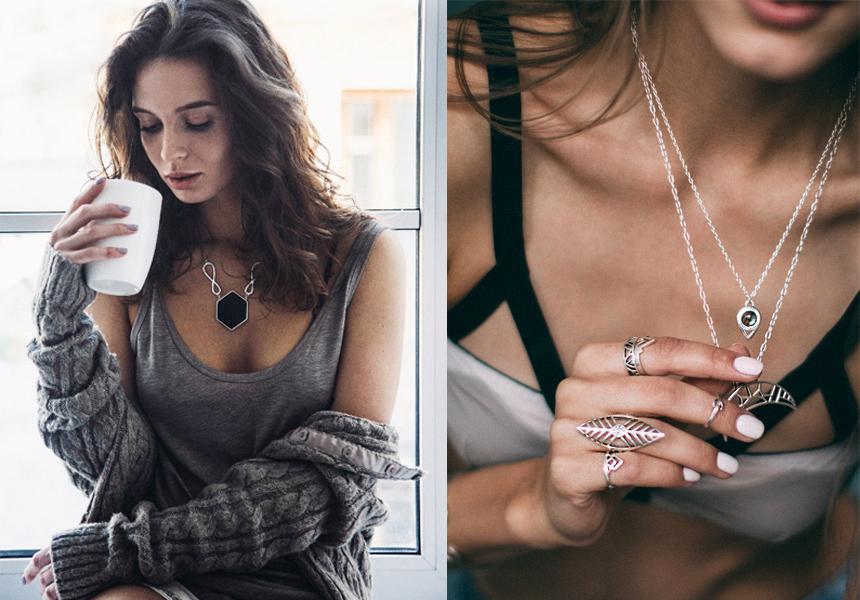 Украшения-амулеты на каждый день от российской ювелирной марки «Aloha Gaia»