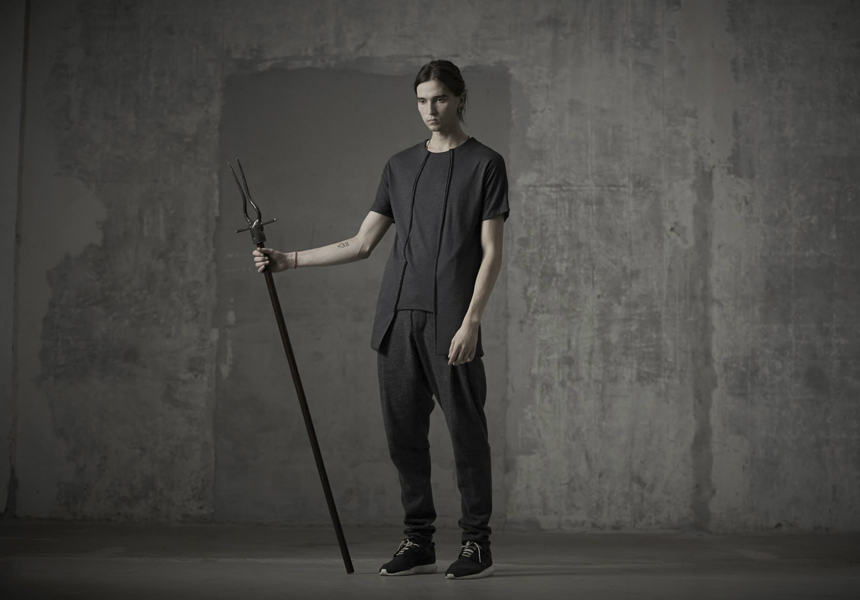 Мужская одежда от концептуальной российской марки  «Infundibulum»