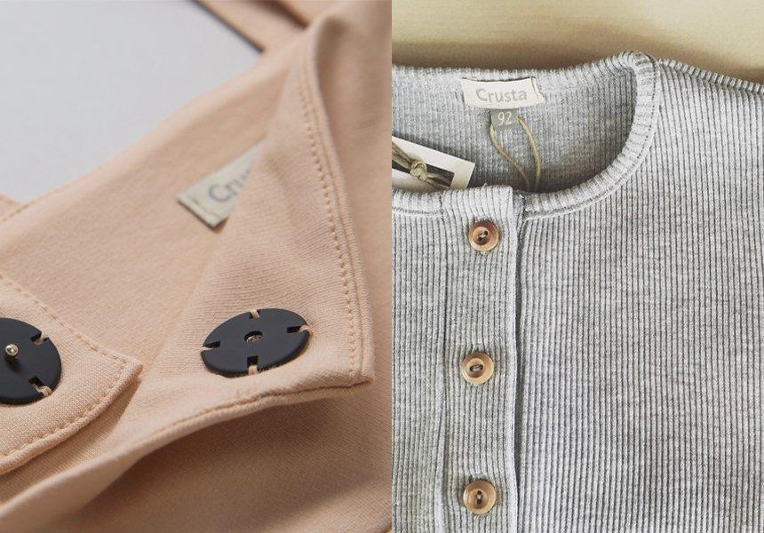 «Crusta» - базовая детская одежда, вдохновлённая природой.