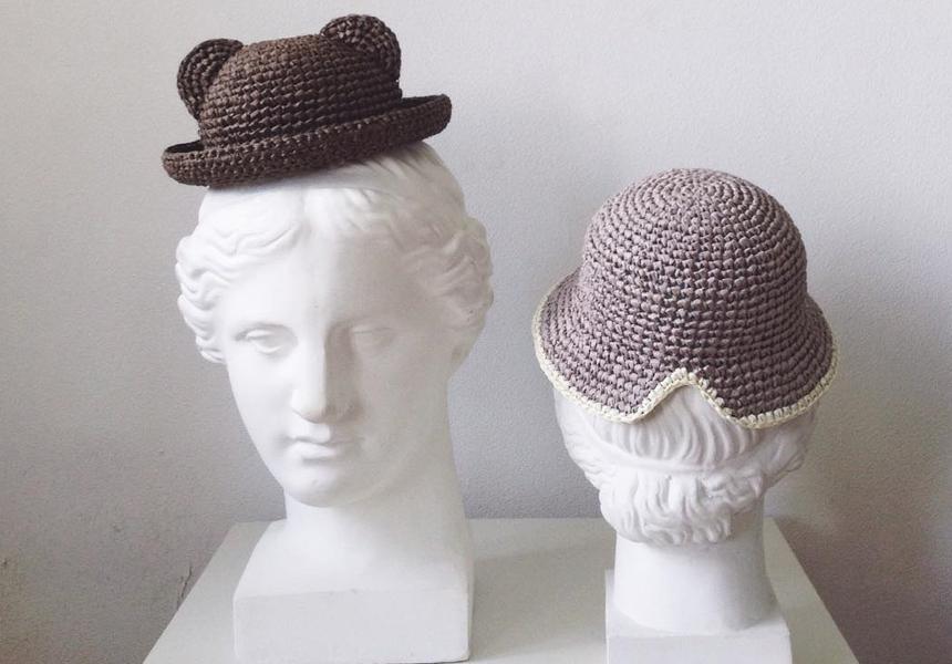 «Cyxodol» - вязаные шляпки ручной работы от российской марки из Краснодара.