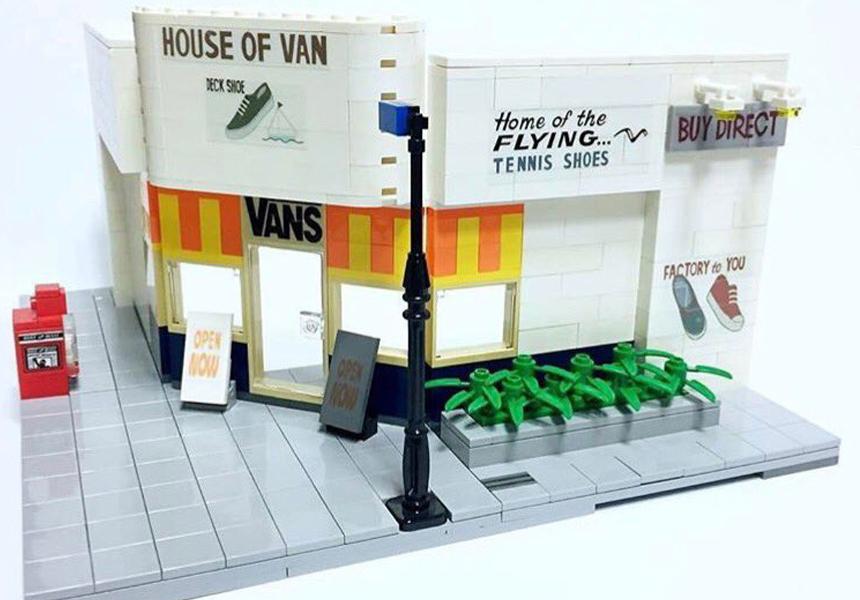 Известные Street-wear бренды из LEGO