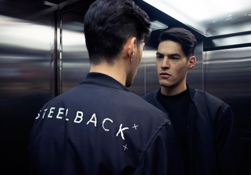 «steel back»