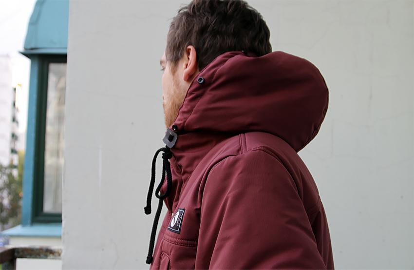 Обзор мужской зимней парки бренда «Город Горький»