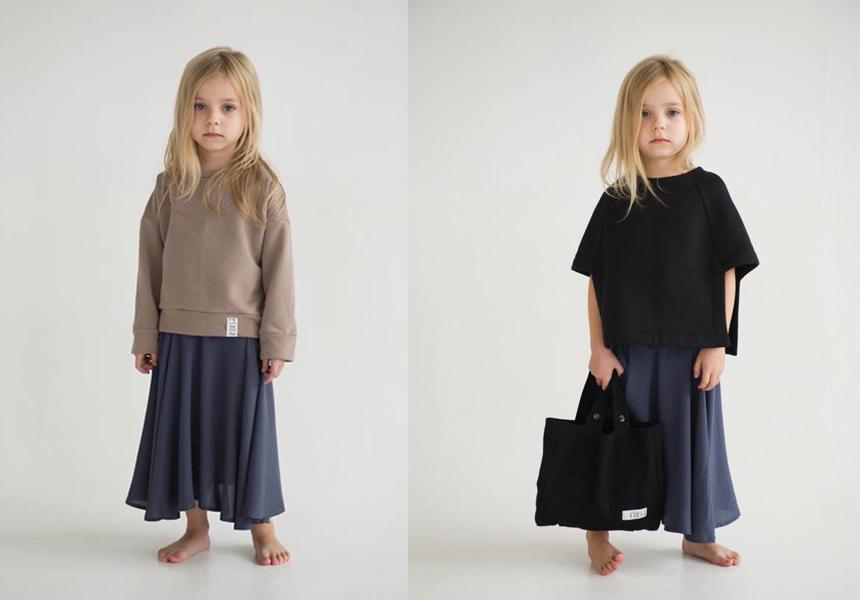 Современный городской стиль от нового бренда детской одежды «K U K L A».