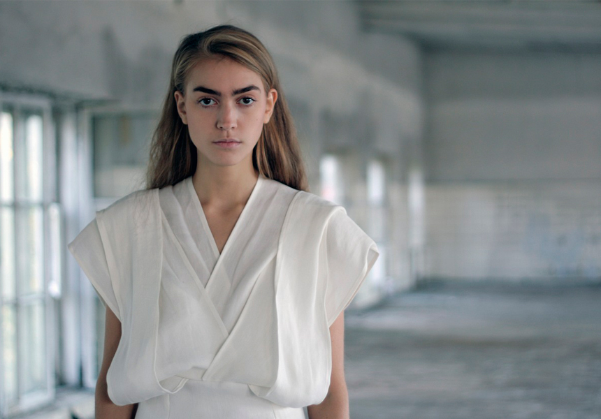 Женская одежда от московской марки «Shlitza»