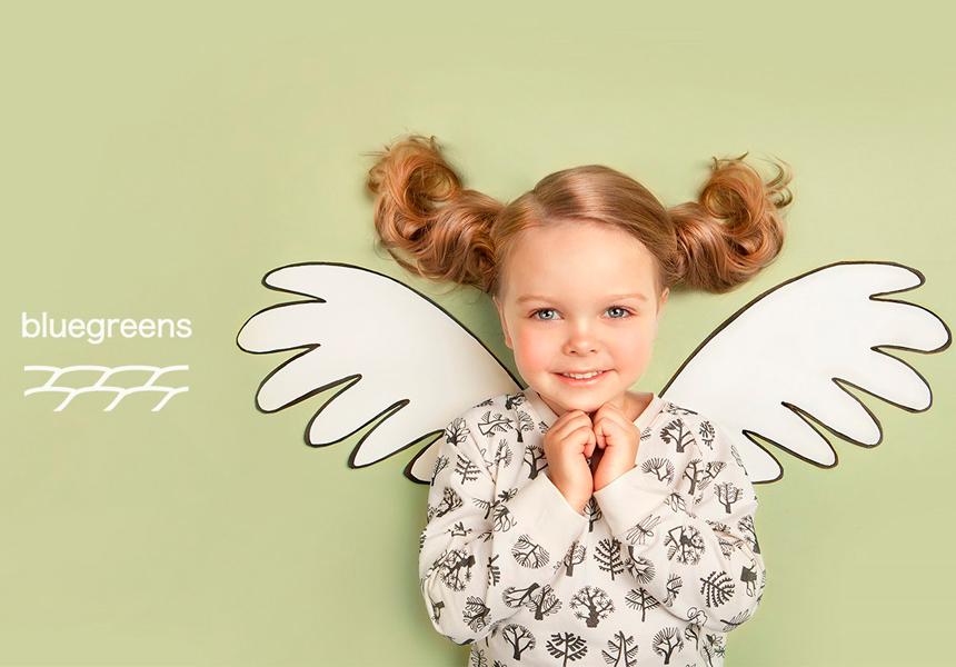 Бренд «Bluegreens» - с заботой о детях и планете.