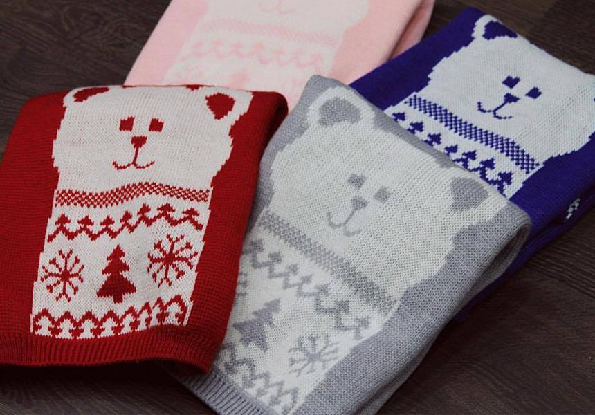 Вязаные изделия от российской марки «MISHKA»