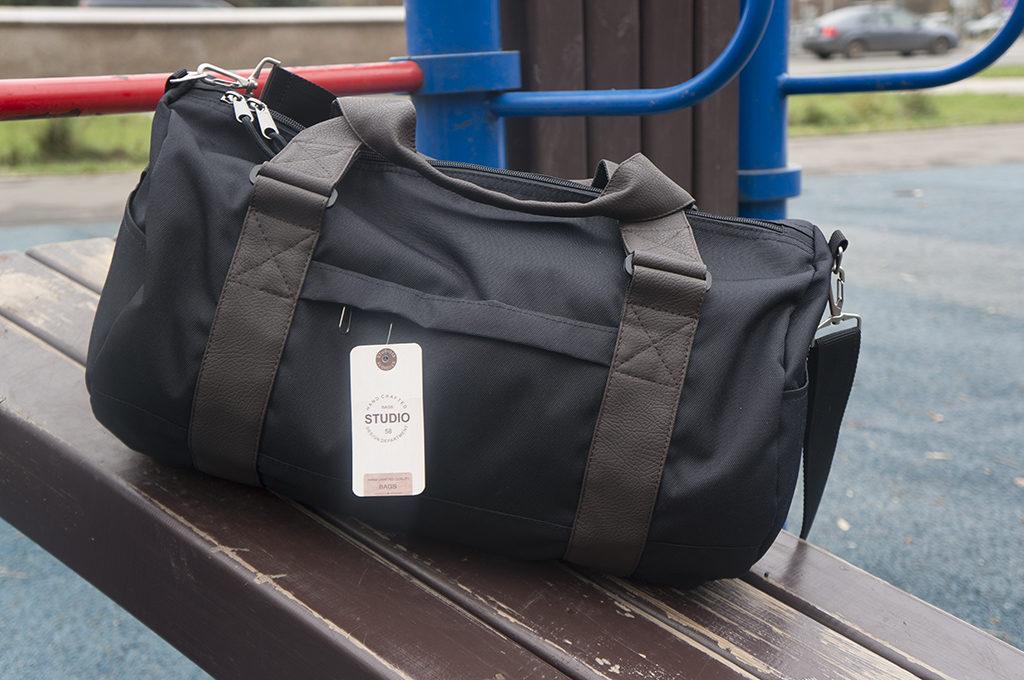 обзор спортивной сумки 01- студия 58