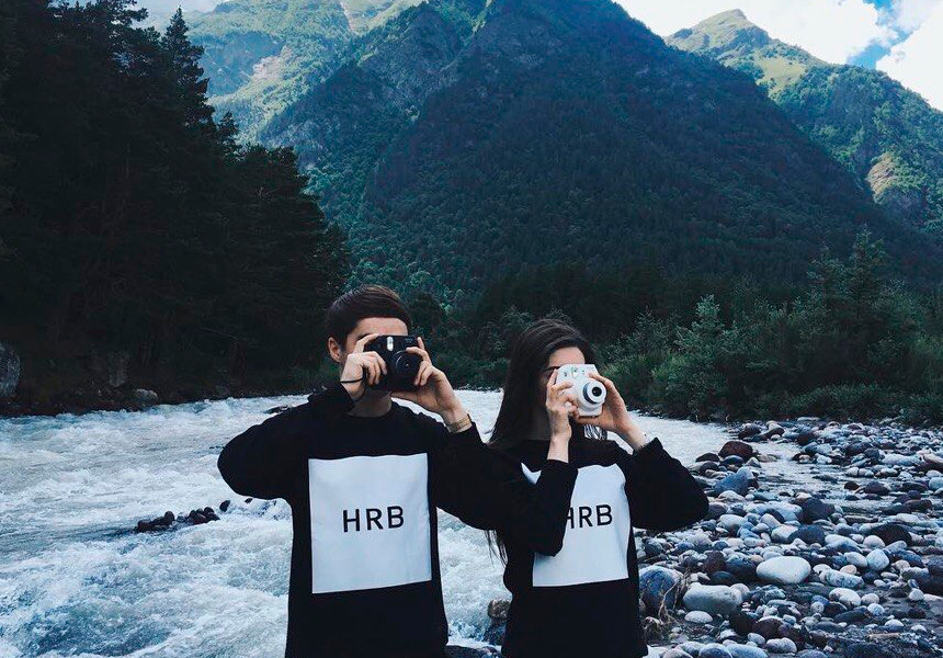 Современная городская одежда от российской марки «HRB»