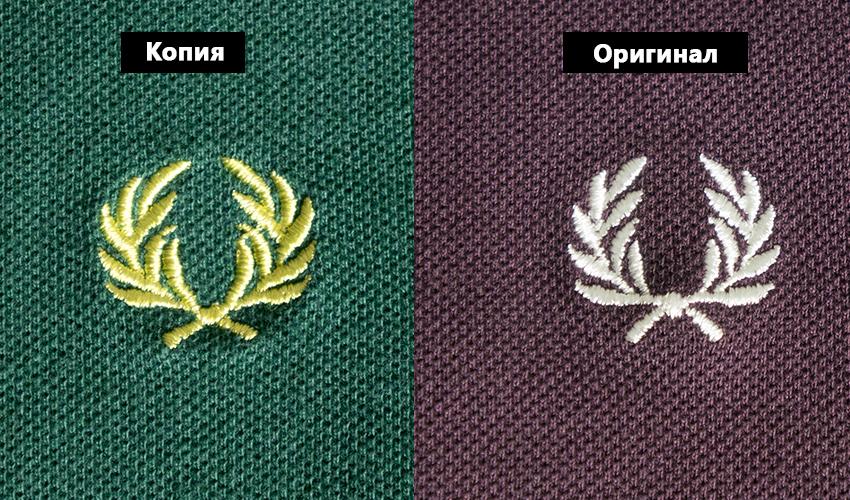 поло fred perry логотип