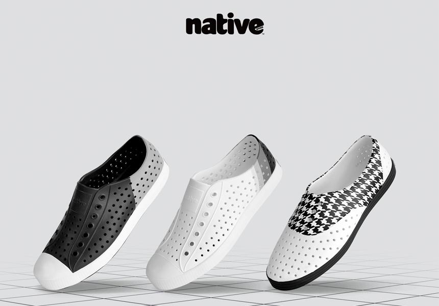 Уникальная инновационная обувь от бренда «Native»