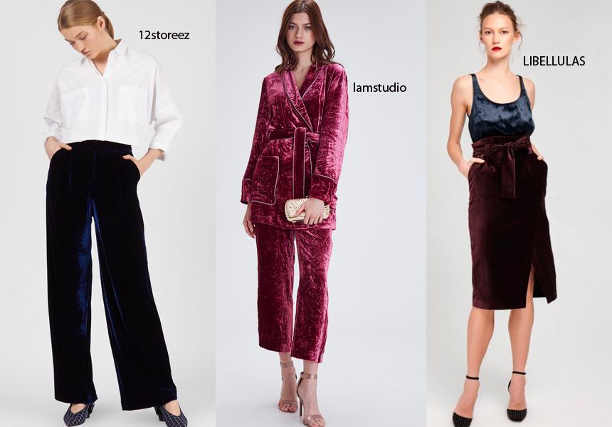 Благородство бархата в модной тенденции 2018 года.