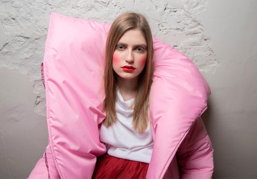 Пуховик-одеяло бренда «ПухМех»