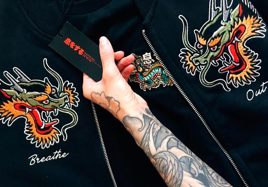 Колоритные авторские принты street-wear бренда «BREATHE OUT»