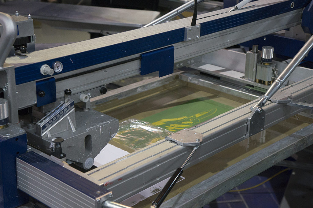 retro fabrik print