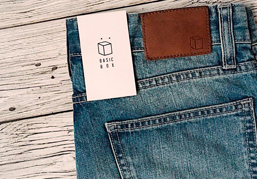 Базовая мужcкая одежда от молодого бренда «Basic Box».