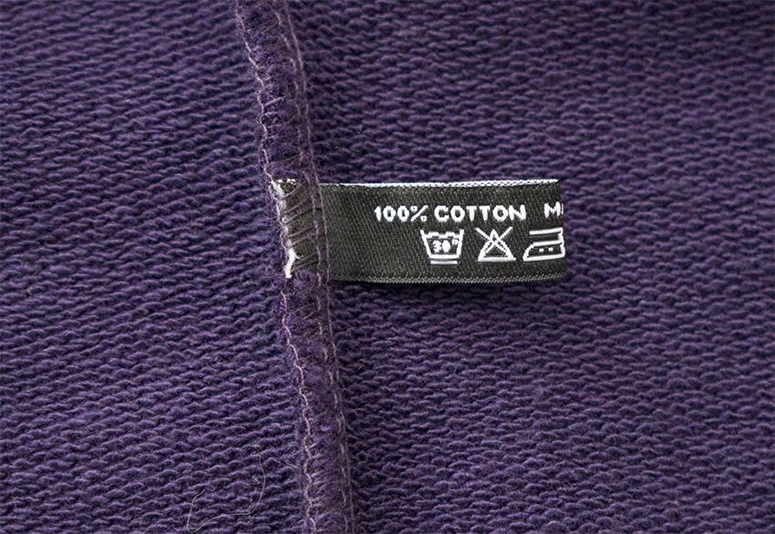 SØNNER AF VINDEN обзор толстовки Cross Purple Cross Reflective