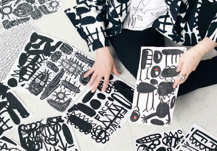 Авторские принты и арт-эстетика в изделиях бренда «FactiveFace»