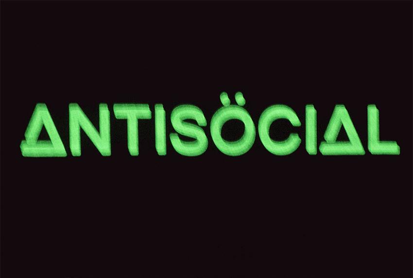 Представляем новую футболку Antisocial Night Glow
