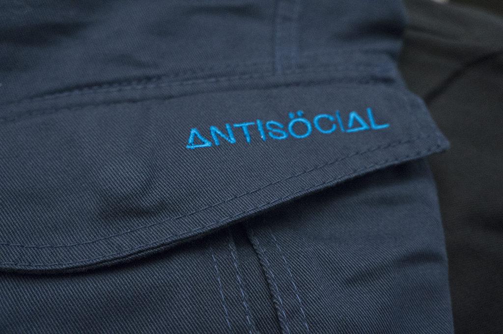 логотип синий